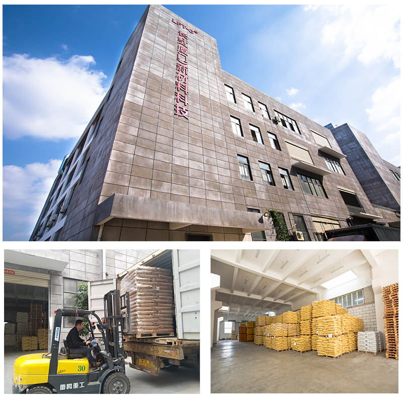 Factory of polymer long glass fiber in Xiamen City